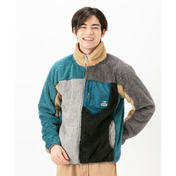 CHUMS 洽洽鸟 CH04-1242 C070  男款加厚保暖抓绒外套