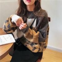 Tonlion 唐狮 62542FC0043203A805 女士针织衫