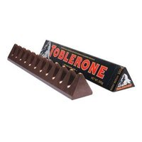 TOBLERONE 瑞士三角  黑巧克力 100g *4件 +凑单品