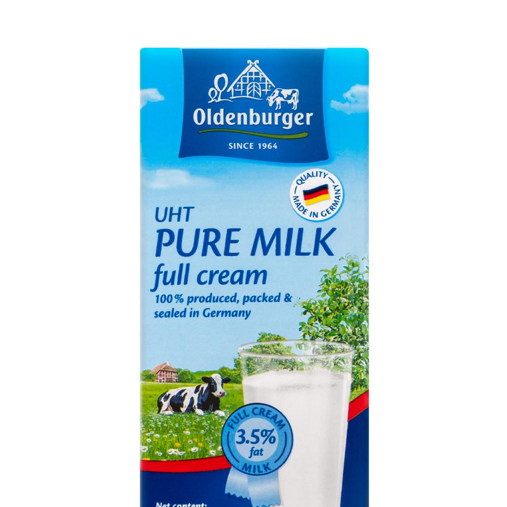 Oldenburger 欧德堡 全脂纯牛奶 200ml*24盒 *5件 +凑单品