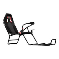 Next Level Racing GT lite 可折叠赛车游戏座椅 方向盘支架VR游戏电竞舱电竞椅游戏机赛车模拟器