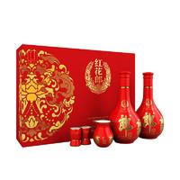 苏宁SUPER会员:LANGJIU 郎酒 红花郎(10)  53度 酱香型白酒 500ml*2瓶