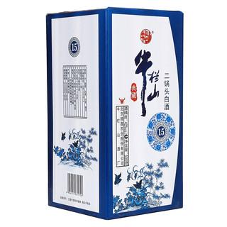 Niulanshan 牛栏山 二锅头白酒 典藏15 42%vol 清香型白酒 500ml 单瓶装