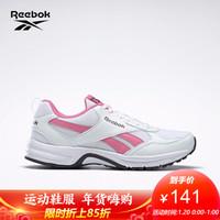 Reebok锐步男女跑步鞋RUNPHEEHAN 5.0男子低帮网面运动鞋FV4293 FV4296_白色/粉色 35