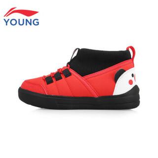 李宁 诸事顺意猪猪鞋  YKAP146-1 李宁红/标准黑
