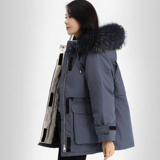 SNOWFLYING 雪中飞 X00145472F 女士羽绒服