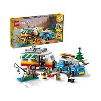 20日0点、88VIP:LEGO 乐高 Creator3合1创意百变系列 31108 大篷车家庭假日