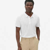 Gap 盖璞 Fit系列 457010 男装简约短袖Polo衫