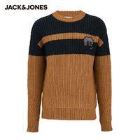 20日0点:Jack Jones 杰克琼斯 219425507 羊毛混纺针织衫