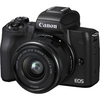 Canon 佳能 EOS M50(EF-M 15-45mm)APS-C画幅 微单套机