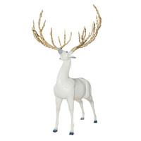 限量收藏雕塑 高端商务礼品摆件 王志杰亲笔签名 白鹿王者