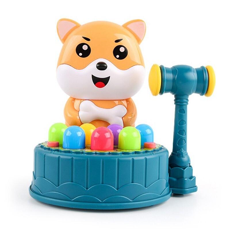 优迭尔 儿童电动打地鼠玩具 电池版