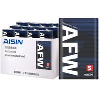京东PLUS会员:AISIN 爱信 AFW5 自动变速箱油 12L 包循环更换工时
