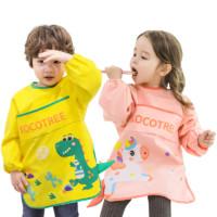 kocotree 儿童吃饭画画防水围裙罩衣