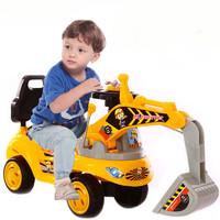 琪琪贝 儿童大号音乐滑行挖掘机玩具