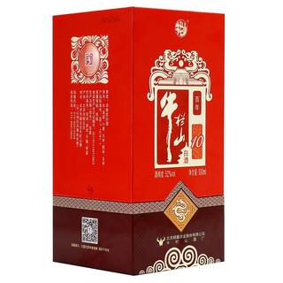 Niulanshan 牛栏山 百年红10 52%vol 浓香型白酒 500ml*6瓶 整箱装