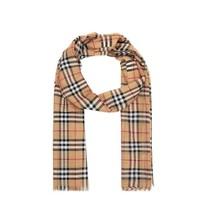 BURBERRY 博柏利 80155051 女士格纹混纺围巾