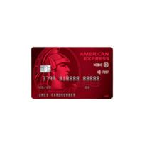 ICBC 工商银行 美国运通系列 信用卡金卡 耀红版