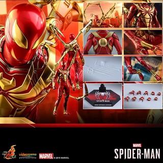 Hot Toys《漫威蜘蛛侠》蜘蛛侠 钢铁蜘蛛装甲战衣 1:6比例人偶