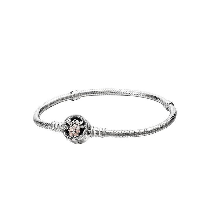 PANDORA 潘多拉 590744CZ 女士925银珐琅手链