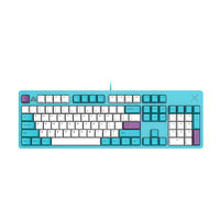 FirstBlood B27 104鍵 有線機械鍵盤 翠藍色 白光 黑軸