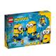 百亿补贴:LEGO 乐高 Minions 小黄人系列 75551 玩变小黄人 270元包邮