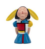 XQ 稀奇 稀奇艺术向京《我看到了幸福》蒙德里安情书收藏版雕塑摆件