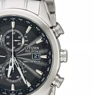 CITIZEN 西铁城 光动能腕表系列 43毫米石英腕表 AT8010-58E