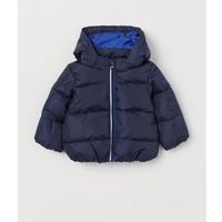 H&M 男婴幼童保暖连帽棉服 *2件