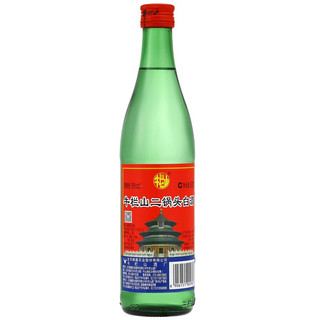 Niulanshan 牛栏山 二锅头白酒 绿瓶 56%vol 清香型白酒 500ml*12瓶 整箱装