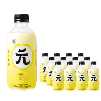 京东PLUS会员:亲亲元气 无糖苏打汽泡水 300ml*12瓶 柠檬味 *2件