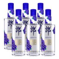 LANGJIU 郎酒 45度兼香型光瓶白酒 480mL*6瓶