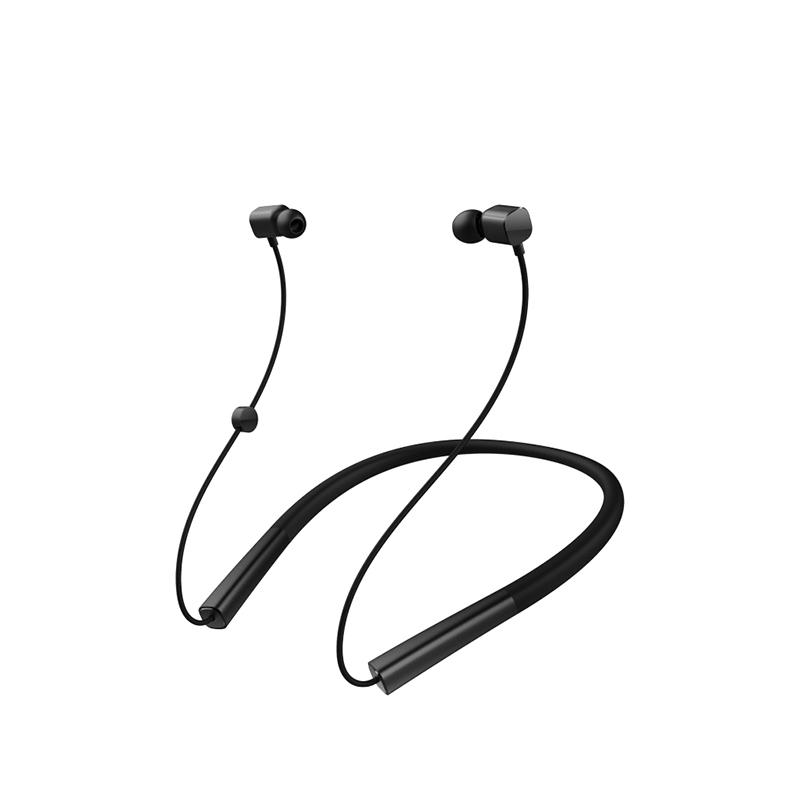 锤子(smartisan)坚果颈挂式无线蓝牙运动耳机 蓝牙耳机颈挂脖式 防水防汗 圈铁一体化发声单元 黑色 *3件