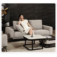 小米 8H B3C Alita 柔软麻乳胶智能沙发 三人位