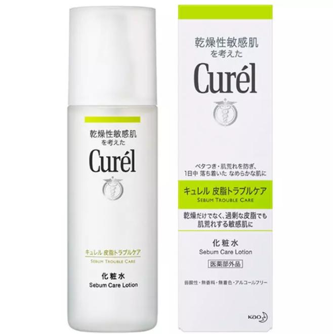 Curel 珂润 脸部控油保湿护理系列控油保湿化妆水 150ml