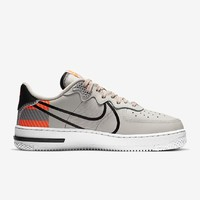 NIKE 耐克 Air Force 1 React LX 3M CT3316-002 男子运动鞋