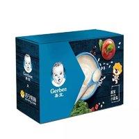 Gerber 嘉宝 营养米粉250克*2罐+钙铁锌营养麦粉250克*1罐礼盒
