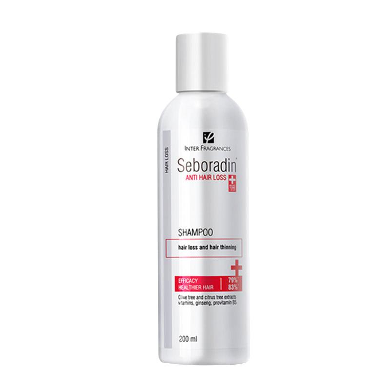 【年货节0-1点】Seboradin丝柏汀进口防脱发洗发水无硅油清洁滋养头皮防头发护理