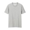 UNIQLO 优衣库 男士棉质纯色圆领短袖T恤413485