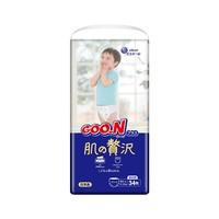 88VIP:GOO.N 大王 奢华肌滋润保湿 婴儿拉拉裤 XL 34片*2