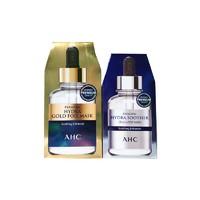 AHC 玻尿酸面膜+黄金锡纸面膜 组合装 (5片*2)