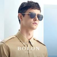 BOLON暴龙眼镜太阳镜飞行员框蛤蟆镜开车驾驶墨镜BL7117(BL7117C90)