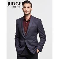 JUDGER 庄吉 TXZ044J218904 男士羊毛修身西装