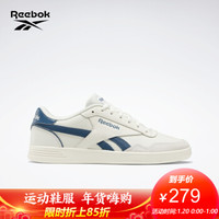 Reebok锐步 运动经典  ROYAL TECHQUE T男女低帮休闲鞋 FZ0428_白色/深蓝色 41