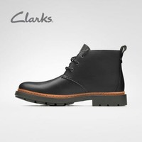 Clarks 其乐 Trace Flare经典复古系带工装靴