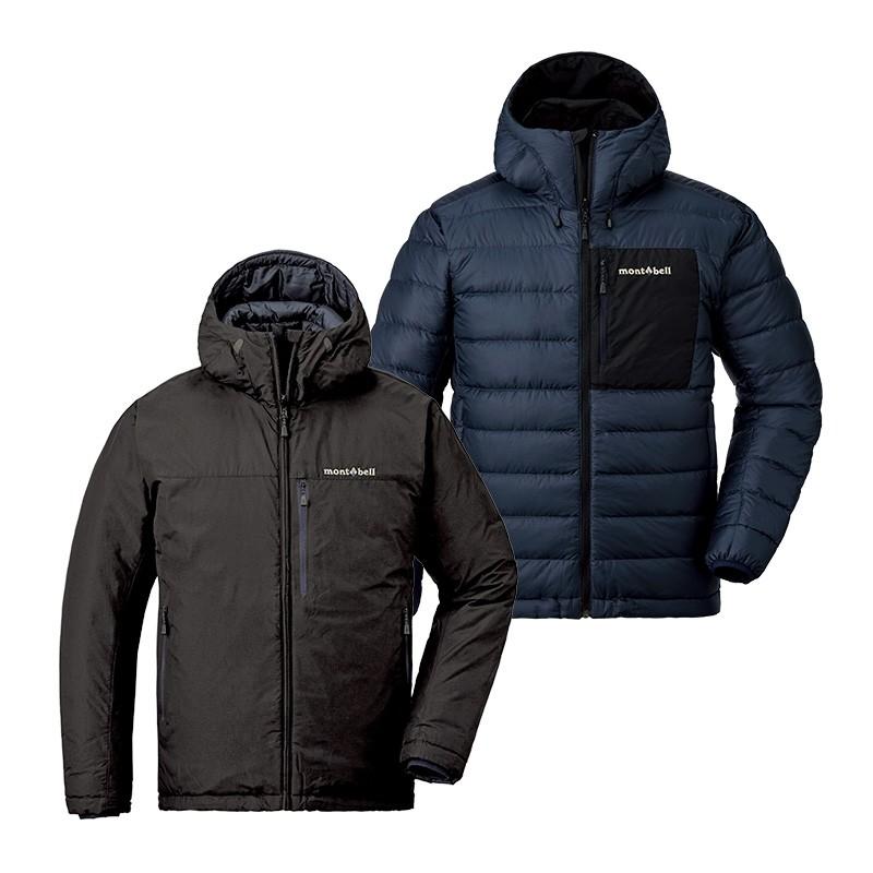 MontBell 男子户外羽绒衣 1101492 黑色/深蓝色 L