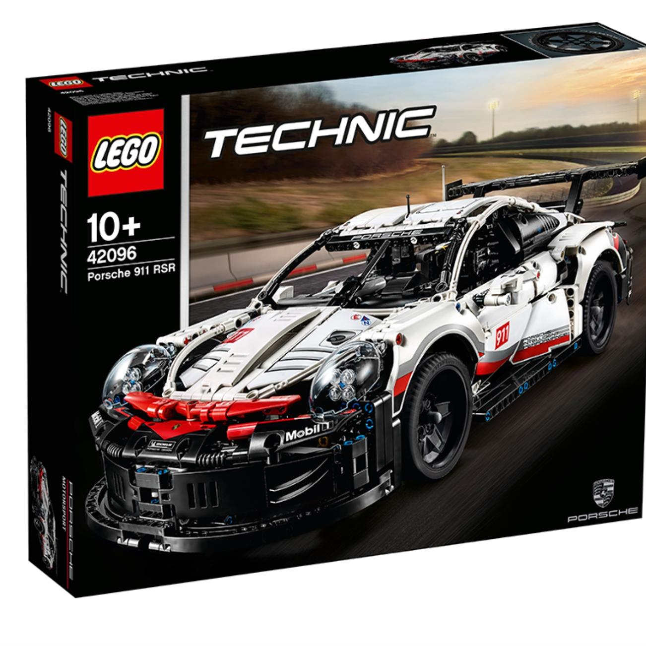 19点开始、百亿补贴 : LEGO 乐高 机械组系列 42096 保时捷911 RSR