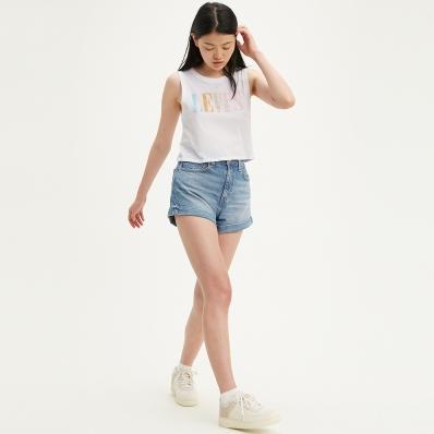 Levi's 李维斯 女士牛仔短裤