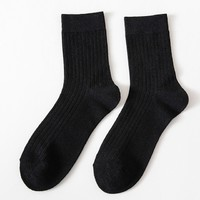 甄炫 20066 男士中筒纯棉加厚袜 10双装