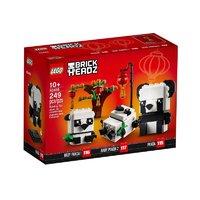 积木之家、新品发售:LEGO 乐高 BrickHeadz方头仔系列 40466 新春吉祥熊猫